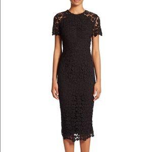 Shoshanna Beaux Lace Sheath Dress